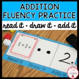 Read It, Draw It, Add It, Flip It! Number Work Activity {Addition Edition}