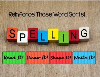 Words Their Way Word Sorts Set 3