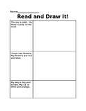 Read It, Draw It! Simple Sentences