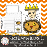 Where the Wild Things Are Activity: Read it, Write it, Draw it!