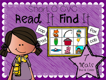 Read It Find It (Short O CVC)