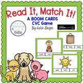 Read It, Match It CVC BOOM CARDS