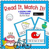 Read It, Match It CVCe BOOM CARDS