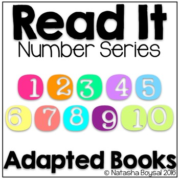 Read It Number Series (Adapted Books 1-10)