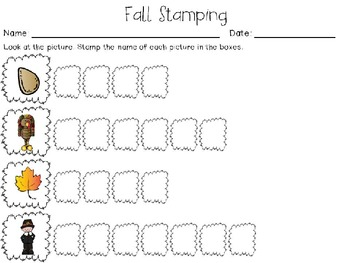 Read It, Stamp It, Write It (Fall Edition)