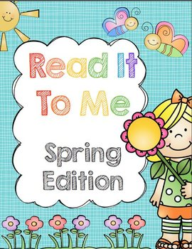 Read It To Me: Spring Edition