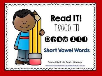 Short Vowels / Word Work / Short Vowel Worksheets / Short Vowel Practice