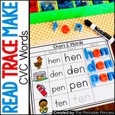 CVC Words Short Vowel Word Families, Great for Word Work Activities