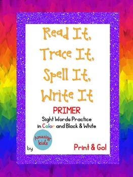 Read It, Trace It, Spell It, Write It PRIMER