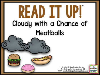 Read It Up! Cloudy With A Chance Of Meatballs