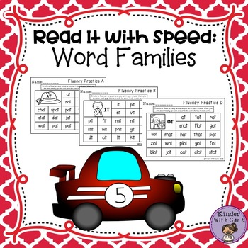 Word Family Fluency - Read It With Speed