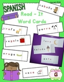 Syllable Decoding: Open Syllable Read-It Word Cards (Spanish)