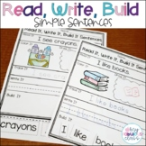 Read It, Write It, Build It, Cut and Paste Sentences
