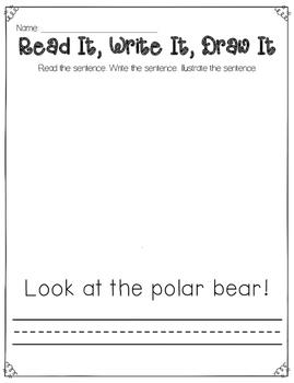 Read It, Write It, Draw It {Winter}