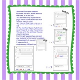 Read It - Write It - Draw it- Smartboard Style!