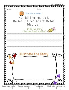 Read It, Write It, Illustrate It: Reading Comprehension for Primary Learners