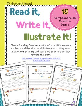 Read It, Write It, Illustrate It: Reading Comprehension fo