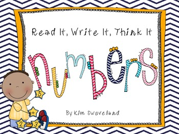 Read It, Write It, Think It Writing Journal (Numbers)