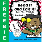 Read It and Edit It! FREEBIE