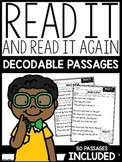 Read It and Read It Again Decodable + Differentiated Passages