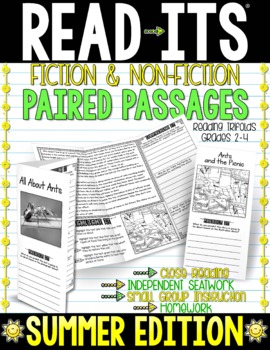 Read-Its™ Paired Passages - Summer / Anytime Edition