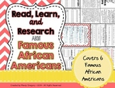 Read, Learn, and Research About Famous African Americans