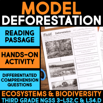 Model Deforestation and Conservation - Ecosystems and Biodiversity