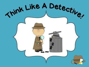 Read Like A Detective! Rereading ~ CCSS RL Key Ideas & Det