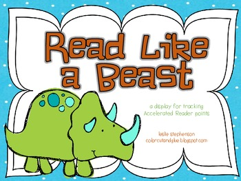Read Like a Beast - A Display for Tracking AR Points