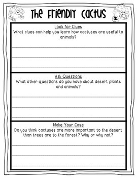 Read Like a Detective! 1st Grade Reading Street Sleuth Printables {Unit 2}