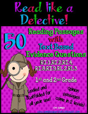 Read Like a Detective! {50 Passages with Text-Based Eviden