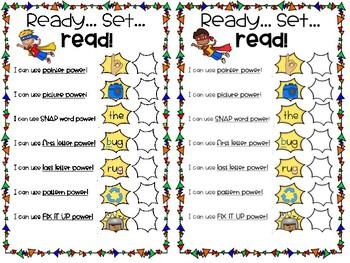 Read Like a Superhero! Conferring Cards