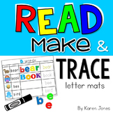 Read, Make & Trace Letter Mats