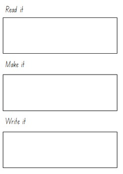 Read, Make and Write template