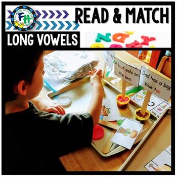 Read & Match Activity: Long Vowels