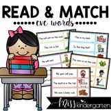 Read & Match CVC Word Cards