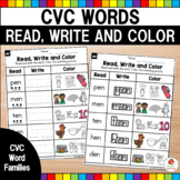 Read & Match CVC Words Bundle