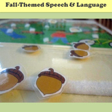 Fall Speech and Language Activity Set