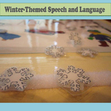 Winter Speech and Language Activity Set