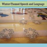 Winter Speech and Language Activity Set
