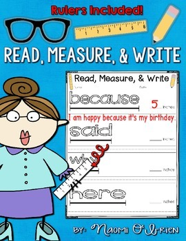 Read, Measure, and Write