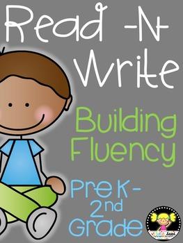 Read -N- Write Building Fluency Bundle
