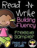 Read -N- Write Building Fluency Bundle {Sampler Freebie}