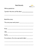 Read Naturally Graphic Organizer