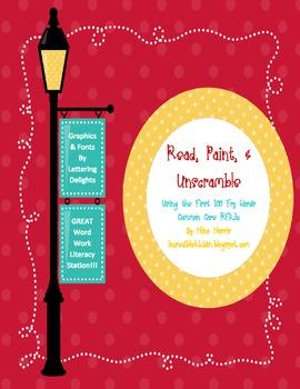 Read, Paint & Unscramble RFK.3.c