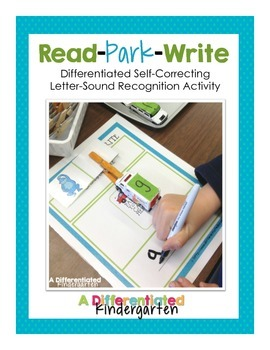 Read-Park-Write: Differentiated Self-Correcting CCSS Letter/Sounds