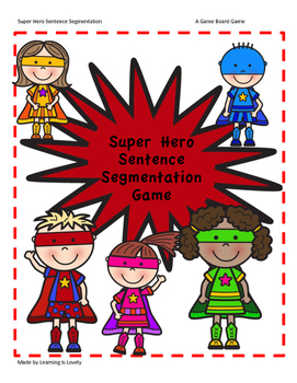 Read Phonetically Regular Words with a Super Hero Game Boa