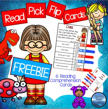 Reading Comprehension Passages: FREE Clothespin Reading Activities
