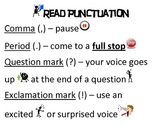 Read Punctuation Poster