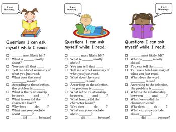 Read & Question Bookmark